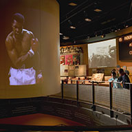 Muhammad Ali exhibit